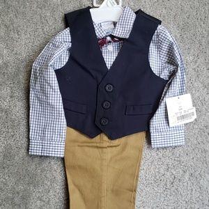 Baby boys 4 piece formal set